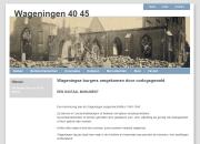 website Wageningen19401945