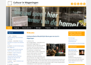 Webdesign kunst en cultuur in Wageningen