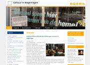 Webdesign kunst en cultuur in Wageningen