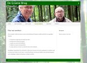 webdesign 'de groene brug' Wwageningen